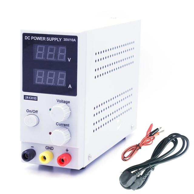 New 30V 10A LED Display Adjustable Switching Voltage Regulation DC Power Supply LW K3010D Laptop Repair Rework