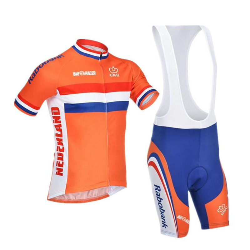 check out 5b90e c5e17 2018 Mens cycling jersey Netherlands new orange bicycle riding pro racing  team cycling clothing jersey custom bicycle jersey cus