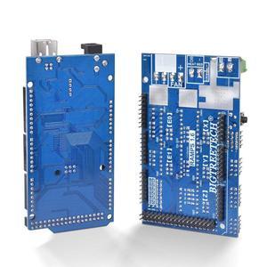 Image 4 - مجموعة أدوات التحكم بالطابعة ثلاثية الأبعاد ميجا 2560 Uno R3 أدوات تشغيل + سلالم 1.6 + 5 قطعة محرك متدرج DRV8825 + LCD 12864 Reprap