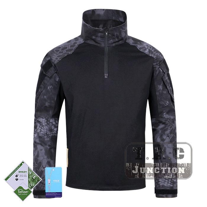 Tactical Emerson BDU G3 Combat Shirts Emersongear CP Style Battlefield Tops Assault Uniform Body Armor Apparel Kryptek Typhon emerson bdu g3 combat uniform shirt