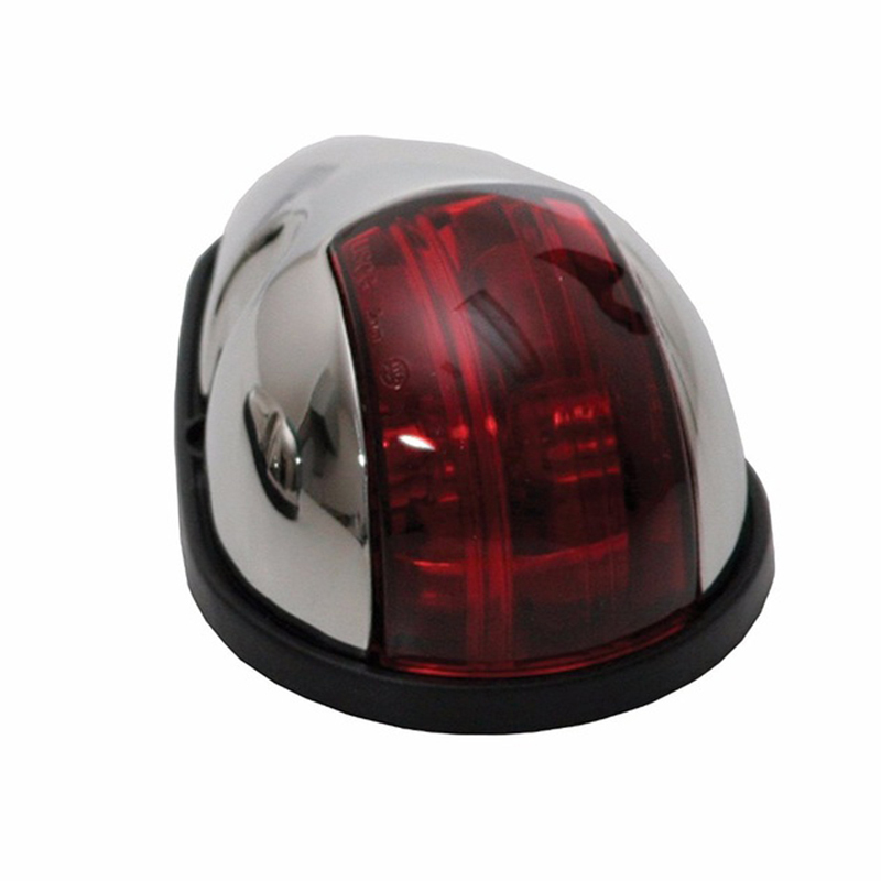 Image 2 - 12V Red Green Marine Boat Light 10W Navigation Light Stainless Steel Housing Lamp-in Marine Hardware from Automobiles & Motorcycles