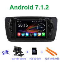2 GB RAM Android 7 1 Car DVD Player Radio For Seat Ibiza 2009 2013 With