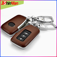Cow leather+ABS For Lexus RX270 ES250  NX200t E200 CT200h GS IS NS key Cover protect shell CAR case