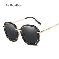 Badtemper Black Round Sunglasses Polarized Steampunk Goggles Sunglasses Men Womens Sunglasses Trendy Mens Sunglasses Eyewear