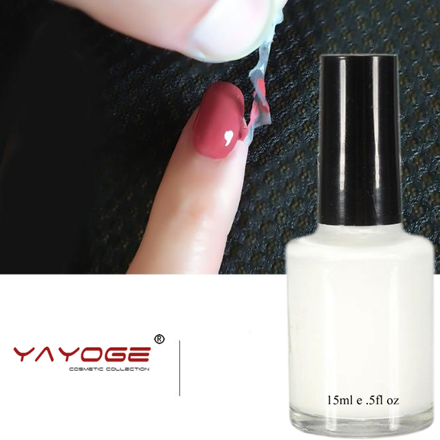 15ml L Off Nail Liquid Art Latex Tape Gel Polish Finger Skin Protect Palisade
