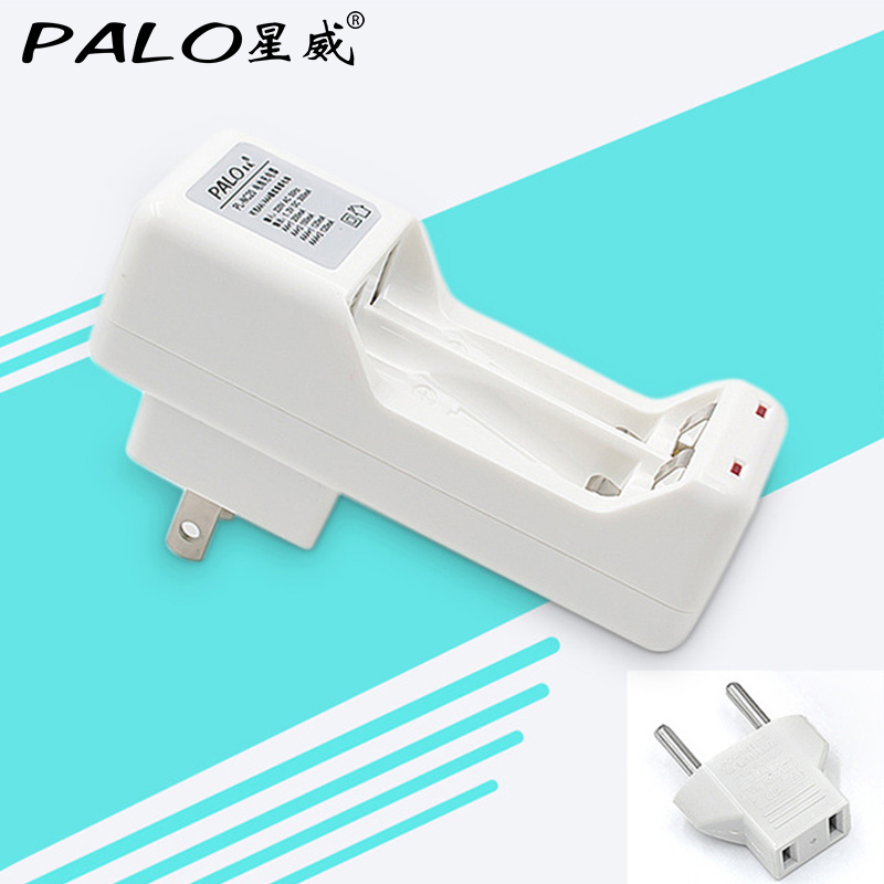2 slots nimh nicd battery charger for aa aaa rechargeable battery with US plug+ EU converter