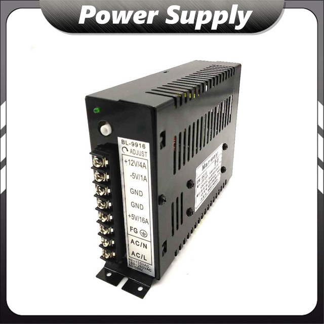 DIY Cabinet Machine +5V/16A 12V/4A -5V/1A Switching Power Supply Arcade Power Supply for Arcade Game Machines Parts