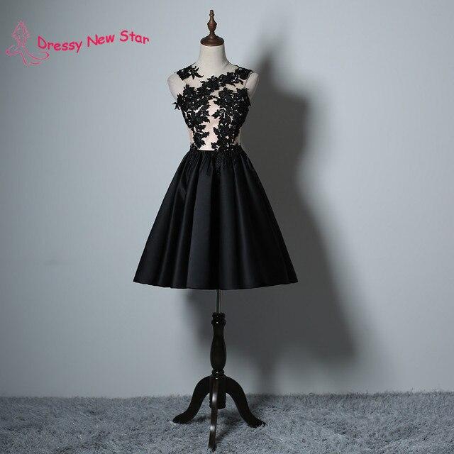 Vestidos de coctel en color negro