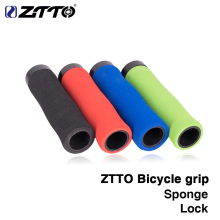 ZTTO 1Pair Sponge Durable Shock-Proof Anti-Slip LOCK Grips Ergonomics Design For MTB Bike Folding Bicycle BMX With Bar Plug