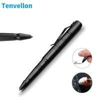 Tenvellon auto-défense fournit stylo tactique tungstène acier Protection de sécurité outil de défense personnelle défense paquet Simple