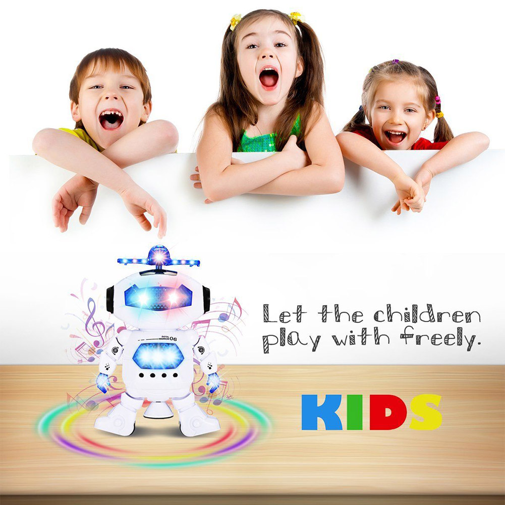 Boys Kids Children Dancing Robot Infrared Music Toys Christmas Birthday Gifts YJS Dropship