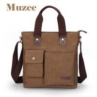 Muzee Fashion Business Casual Men S Bags Handbag Canvas Totes Multi Function Bag ME 0466