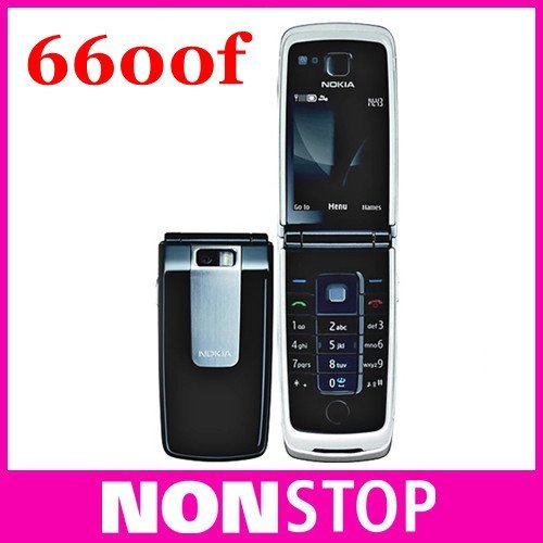 6600 Fold Unlocked original Mobile Cell Phone 6600f Bluetooth FM Radio MP3 Playback Free Shipping