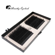 16 lines 0.05/0.07/0.10/0.015 Volume Eyelash Extension False Mink eyelash Mixed Lengths in One Strip Fancy Packing