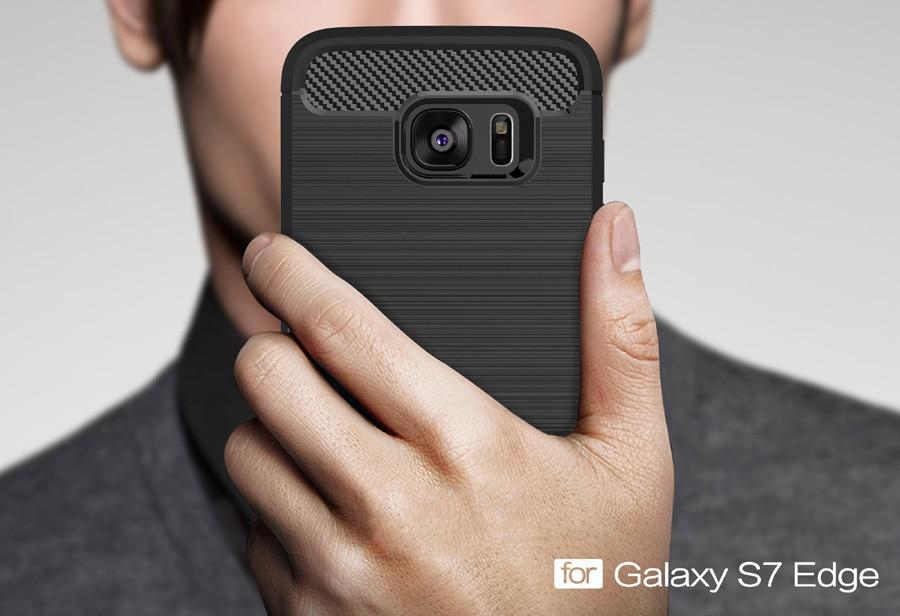 Högkvalitativ halkfri telefonväska för Samsung Galaxy S7 Edge - Reservdelar och tillbehör för mobiltelefoner - Foto 6