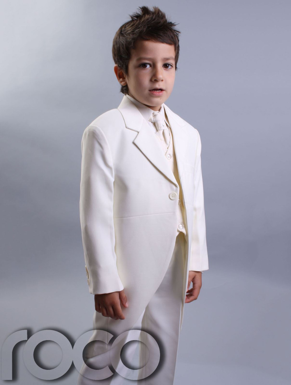 Boys Cream Tail / Morning /Page Boy Suits, Wedding Suits Custom Made ...