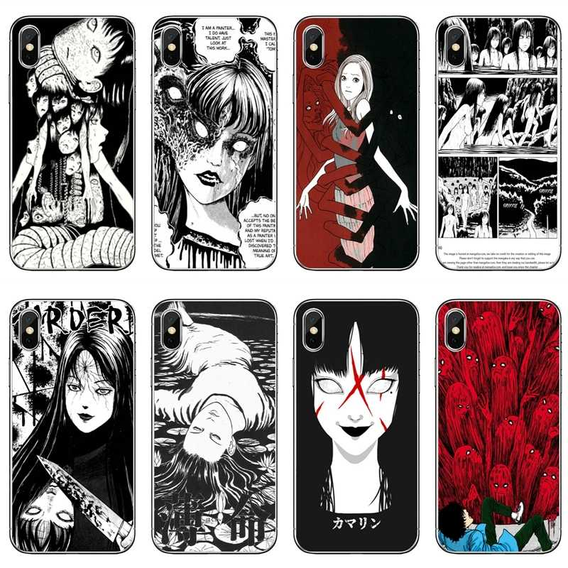 Japanese horror comic Tomie For Xiaomi Redmi S2 3S 4 4A 4x 5 plus 6 6A Note 3 4 5 5A 6 Pro Pocophone F1 Soft phone cover case