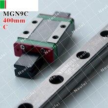 HIWIN MGN9C слайдер с 400 мм MGN9 линейной направляющей 9 мм MGNR9 миниатюрный MGN ЧПУ части