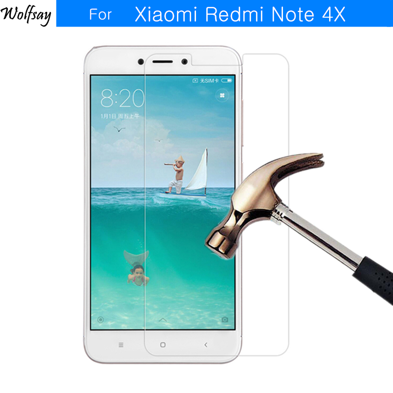 Wolfsay Screen-Protector Tempered-Glass Note-4x Xiaomi Redmi Glass-Film for 2pcs