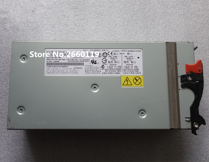 High quality server power supply for 7001509-Y000 7001509-Y002 39Y7403 39Y7402 1450W, fully tested&working well