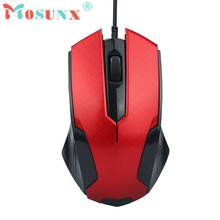 Mosunx Advanced 2017 high quality comfortable mini 1200DPI USB Wired Optical Gaming Mice Mouse For PC Laptop 1PC