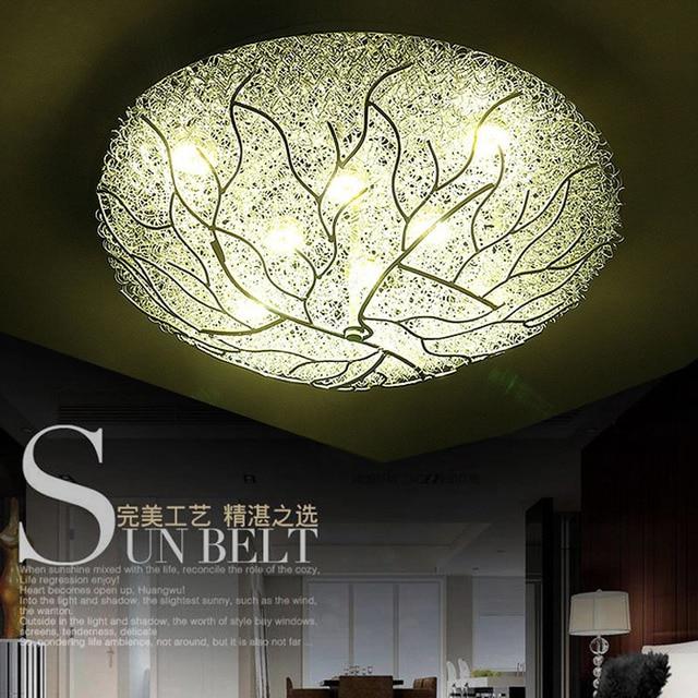 Dia50/80 Cm Modernen Minimalistischen Schlafzimmer Lichter Atmosphäre  Kreative Kunst Warme Lampen Runde Restaurants LED