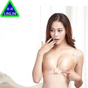 Image 5 - LINLIN  Intelligent underwear  Electric breast enhancement instrument  Bra without steel ring  Chest massage apparatus
