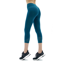 2019 Womens New 3/4 Fitness Leggings Yoga Pants Gym sports Running women Tights Sports