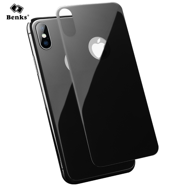 purchase cheap 15bec 480b4 US $9.99 |Benks for iPhone X Back Glass Screen Protector 3D Full Cover  Tempered Glass for iPhoneX Rear Shell Protective Film Anti scratch-in Phone  ...