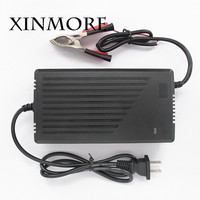 XINMORE Bateria 29 Volt Power Supply 7A 6A 5A Scooter Lead Acid Car Battery Charger Bike