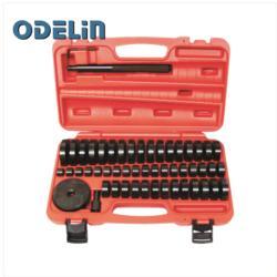 51 unidades, cojinete de buje personalizado, instalador de retén, disco de prensa a presión, juego de herramientas, 18-65mm