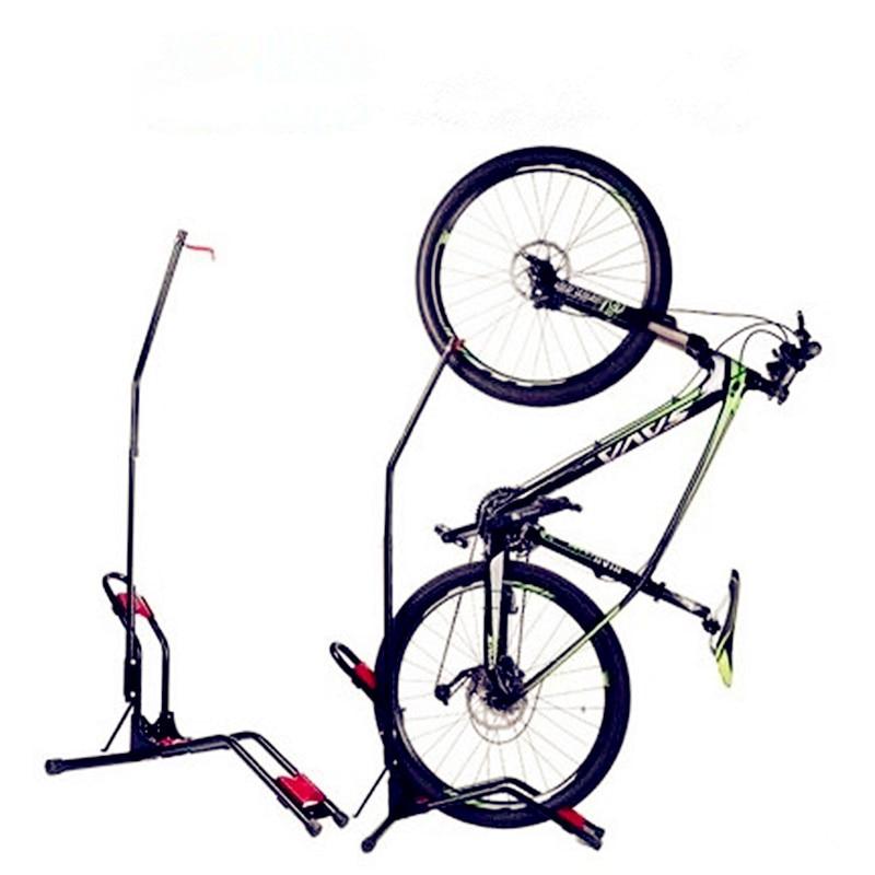Multifonctionnel Vélo Vertical Parking Rack Amovible Conception Stable et Pratique gain de place Vélo Support crochet mural Affichage