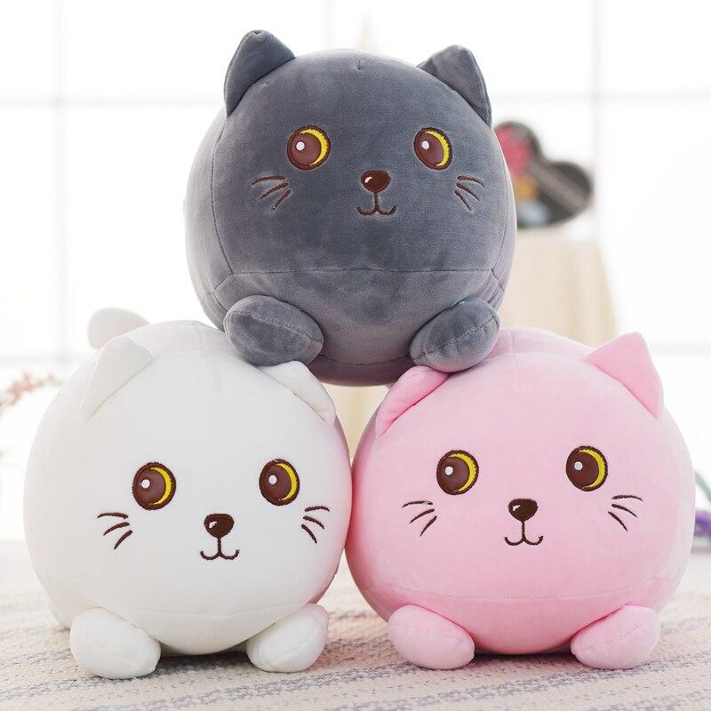 Toys For Fat : New fat cat plush filling dolls cute little kitten