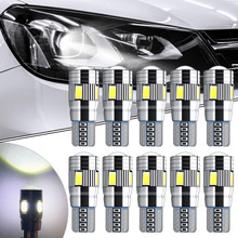 10xCanbus Car LED T10 W5W 6LED Parking Light For Ford Focus 2 1 Fiesta Mondeo 4 3 Transit Fusion Kuga Ranger Mustang KA S-max