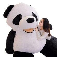 Dorimytrader JUMBO Lembut Kartun Panda Mainan Mewah Terbesar Tersenyum  Panda Mainan Bantal Hadiah Besar 102 inch 260 cm DY60396 9d75a39bef