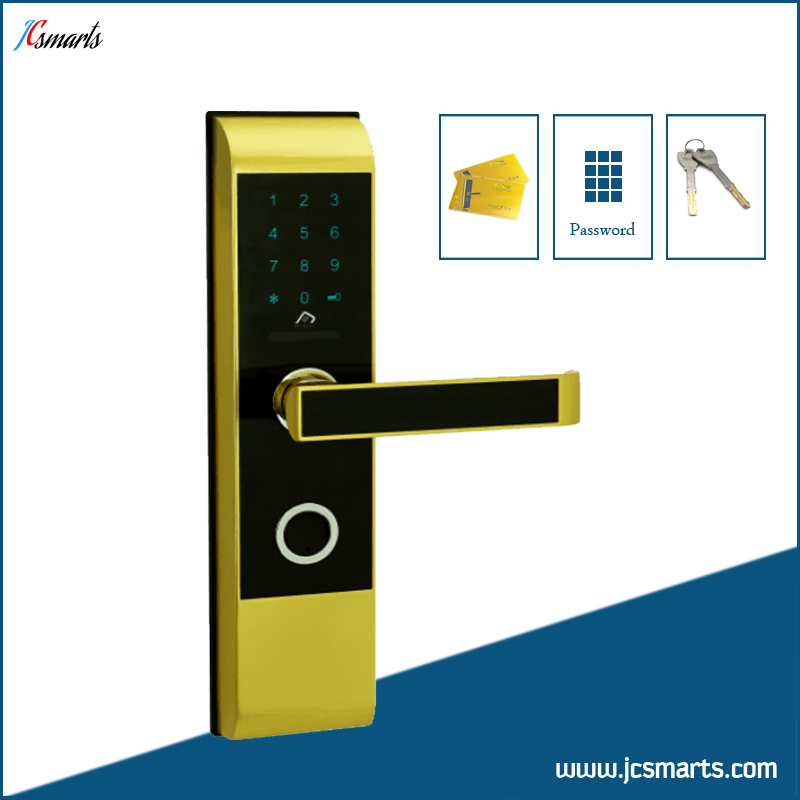 Electronic house lock with code keyless entry gate locks with M1 card reader top quality rolling code pke car alarm system with passive keyless entry power window output automatically lock unlock car