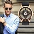 SmileOMG New Fashion Casual Fashion Luxury Men's Leather Strap Analog Quartz Sports Wrist Watch Watches Hot Free Shipping,Oct 2