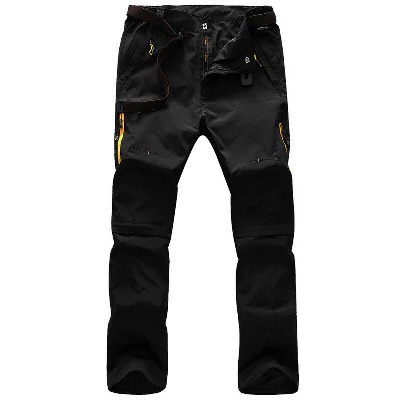 d4a440602e RAY GRACE de verano al aire libre pantalones de senderismo hombres  extraíble transpirable Deporte Pantalones de