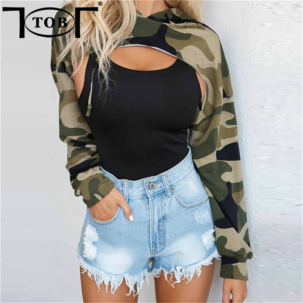 tob women sexy sweatshirts backless cropped hoodie crop top streetwear casual trends 2017 autumn