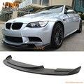 Для 2008 2009 2010 2011 2012 2013 2014 BMW E90 E92 E93 M3 H Стиль Переднего Бампера Для Губ Подбородок Спойлер Предварительно Primered