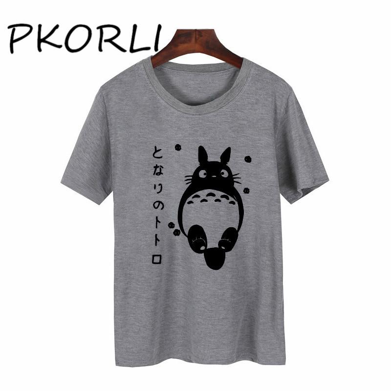 Мужская и женская хлопковая футболка с короткими рукавами Studio Ghibli My Neighbor Totoro