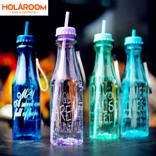 US $2.65 24% OFF 2017 Water bottle sport plastic portable sports bottle with Straw creative bottle unbreakable water bottles 650ml eco friendly-in Water Bottles from Home & Garden on Aliexpress.com   Alibaba Group