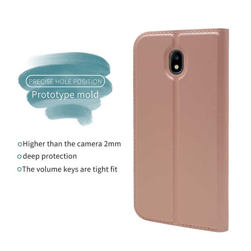 ZROTEVE dla Samsung J3 J5 J7 2017 skrzynki pokrowiec w formie portfela z pu Coque dla Samsung Galaxy J3 J5 J7 2017 ue skórzany stojak odwróć pokrywy skrzynka