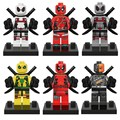 Marvel's The Avengers-Deadpool, Assembly blocks educational toys Children's toys gifts for children.
