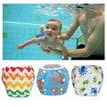 Bebé Swim Pañales Ajustables lavables Reutilizables Pañales de Natación piscina de natación pantalones 1 2 3 4 5 6 7 8 9 10 11 12 mes año poo a prueba de fugas