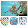 Fraldas de Natação Swim Fraldas Reutilizáveis lavável Ajustável do bebê piscina de natação calças 1 2 3 4 5 6 7 8 9 10 11 12 mês ano poo à prova de fugas