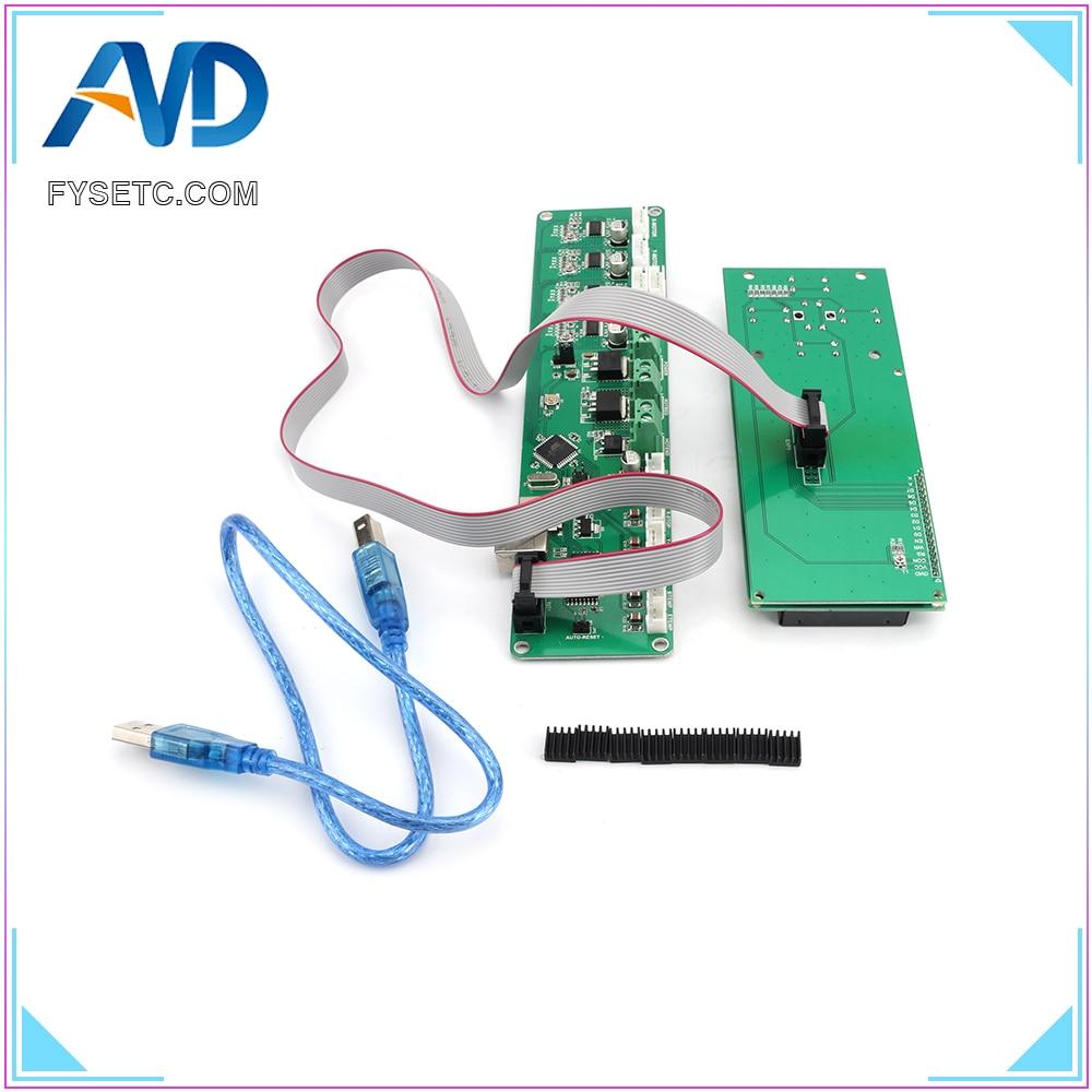 2004LCD + Melzi 2.0 1284 P 3D Imprimer PCB Conseil IC ATMEGA1284P Accessoires Pour Tronxy 3D Panneau de Commande De L'imprimante DIY kit Partie - 6