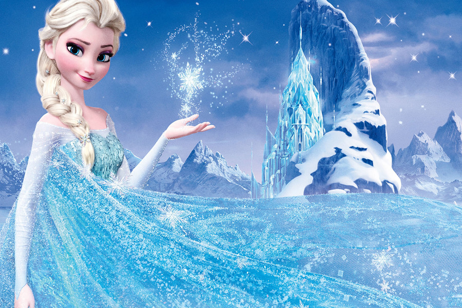 Magia Mosaico dipinti Elsa Congelato FAI DA TE pittura diamante Elsa punto croce di diamanti pittura mestiere di plastica corredi della tela Congelati