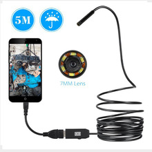 5 M 7mm Lens USB Endoscope Inspection Camera Tube-proof D Water Cobra Cable For OTG Compatible With Android Phones