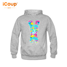 2017 iCoup Men's Jake Paul for X font Male Hooded Sweatshirts